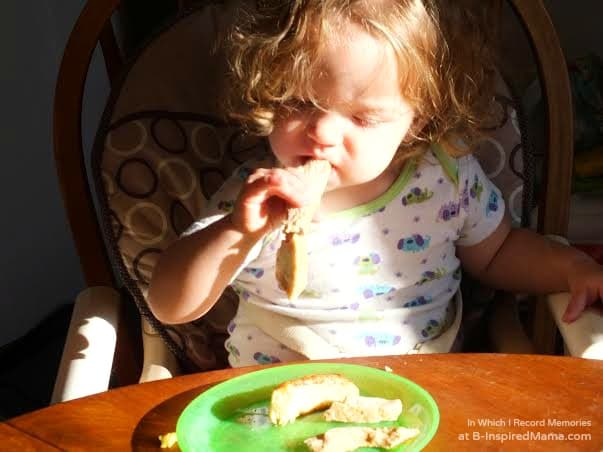 Baby & Toddler Feeding Tips + a Super Baby Food Book Giveaway at B-Inspired Mama