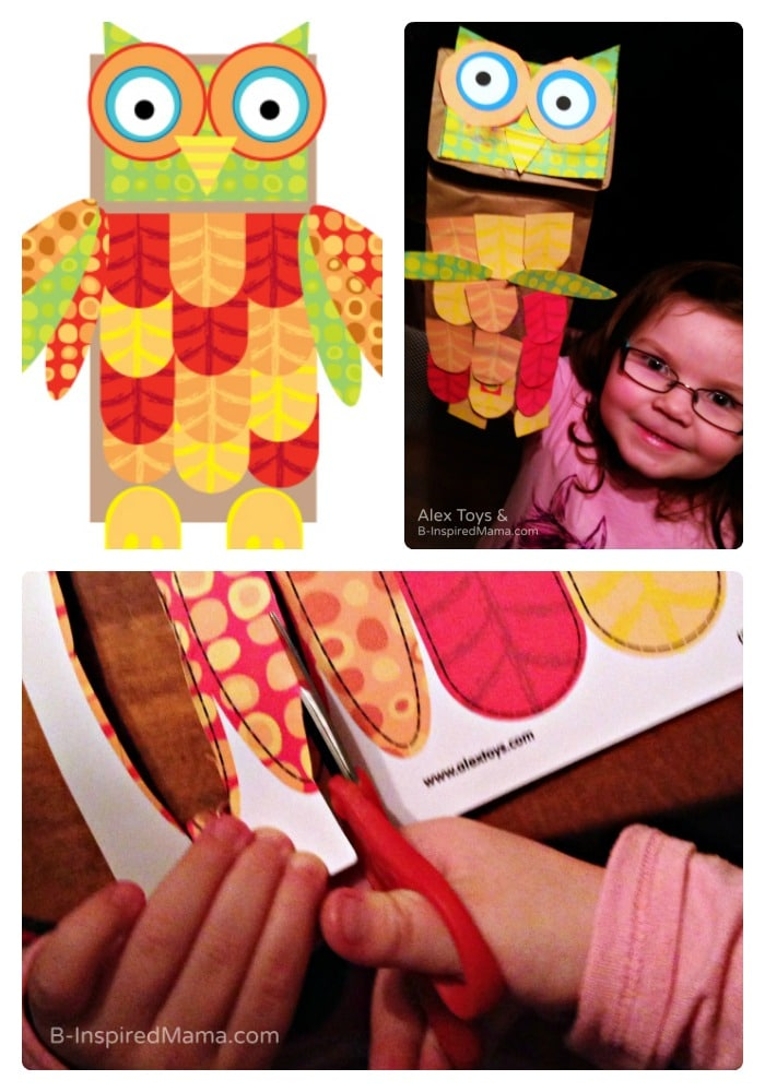 How To Make A Paper Bag Owl Craft Puppet for Imaginative Play ... | 1000x700