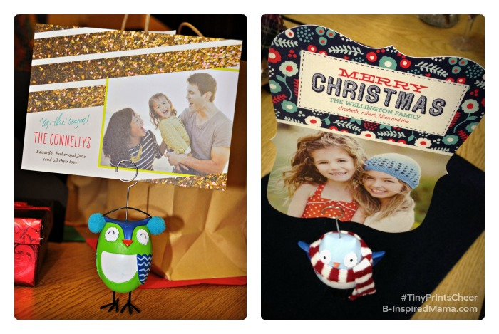 Holiday Card Ideas from Tiny Prints at B-Inspired Mama