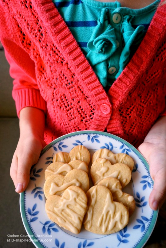 Maple Cookies with Maple Icing at B-Inspired Mama