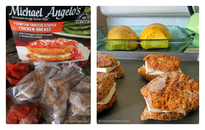 Micheal Angelo's Parmesan Crusted Chicken for an Easy Dinner with Kids at B-Inspired Mama