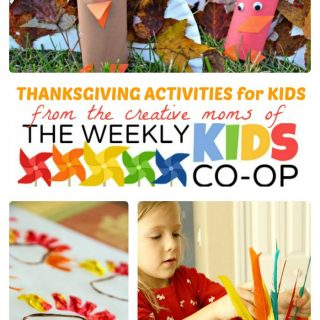 Thanksgiving Activities for Kids from The Weekly Kids Co-Op at B-Inspired Mama