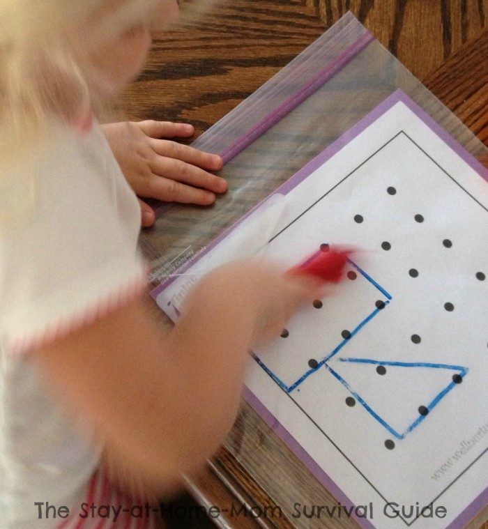 More Math Fun with Printable Geoboard Activities