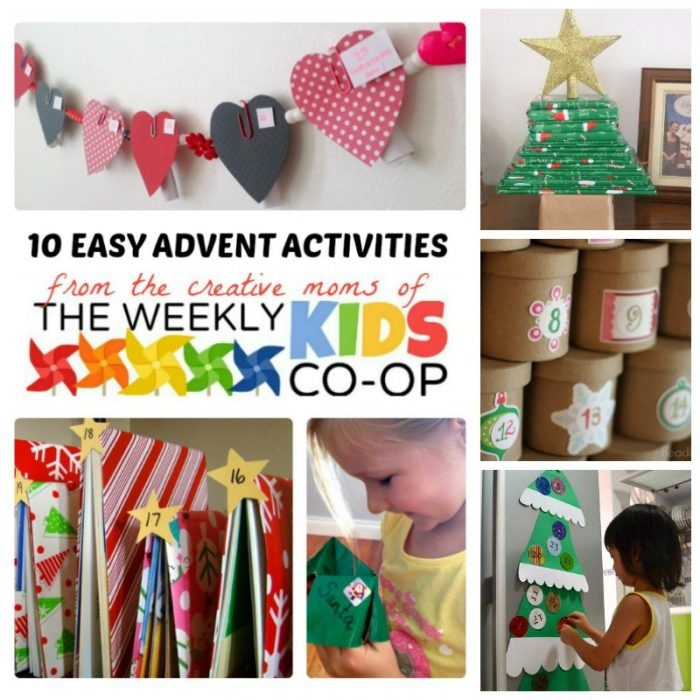 10 Awesome Kids' Advent Calendar Activities - Creative but easy and of course super fun - The perfect family Christmas tradition