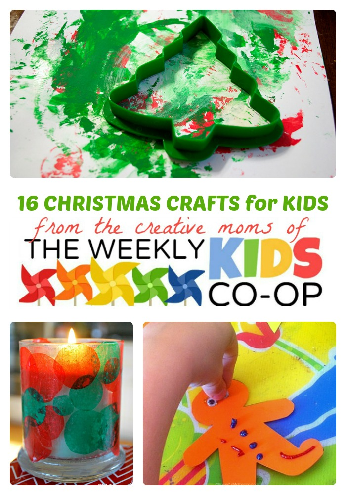 fun christmas craft ideas for kids 16 crafts for from the weekly co 7735