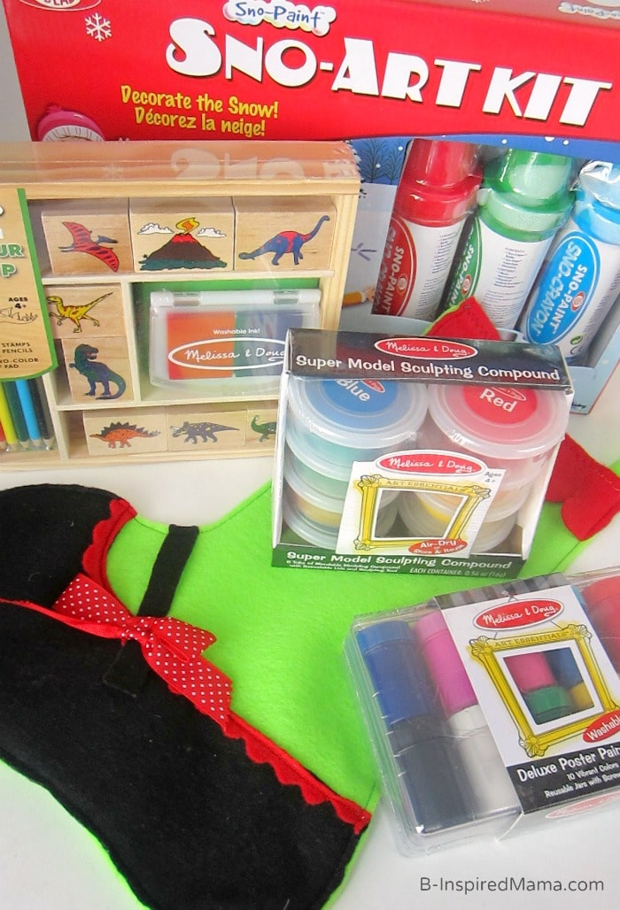 A Kids Christmas Stocking Full of Creativity [Sponsored by ...
