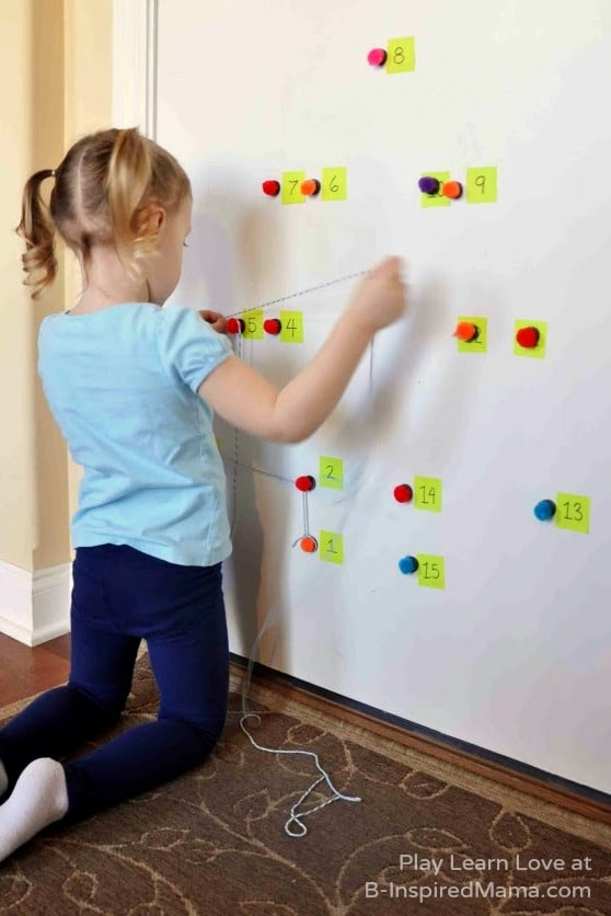 Counting Practice - Giant Holiday Dot-to-Dot Counting Games