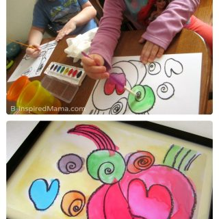 Kid Art Poster Christmas Gifts [Sponsored by #WalgreensApp]