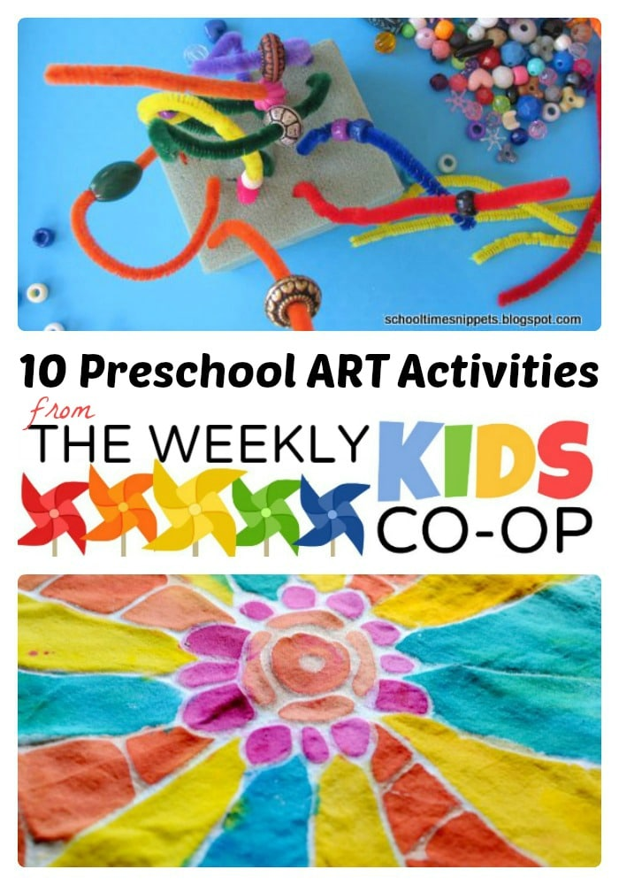 Preschool Art Activities at B-Inspired Mama