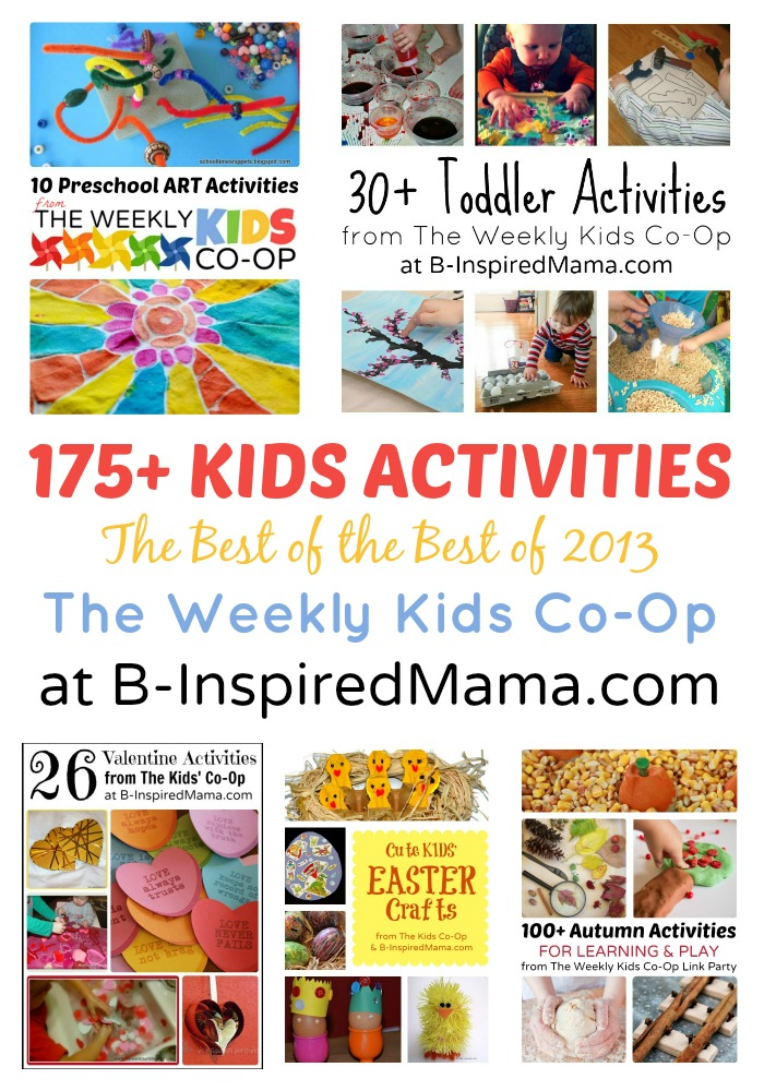 175+ Fun Activities for Kids at B-Inspired Mama
