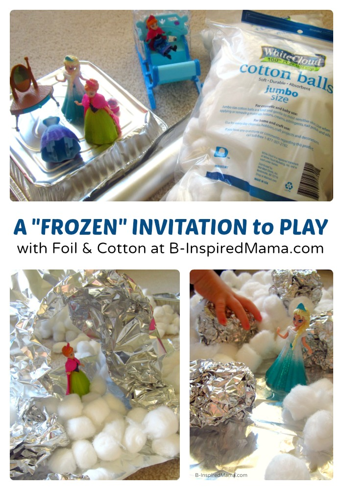 A FROZEN Kids Play Invitation at B-Inspired Mama #FrozenFun, #shop, #cbias