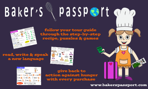 Baker's Passport for Kids Language Learning at B-Inspired Mama