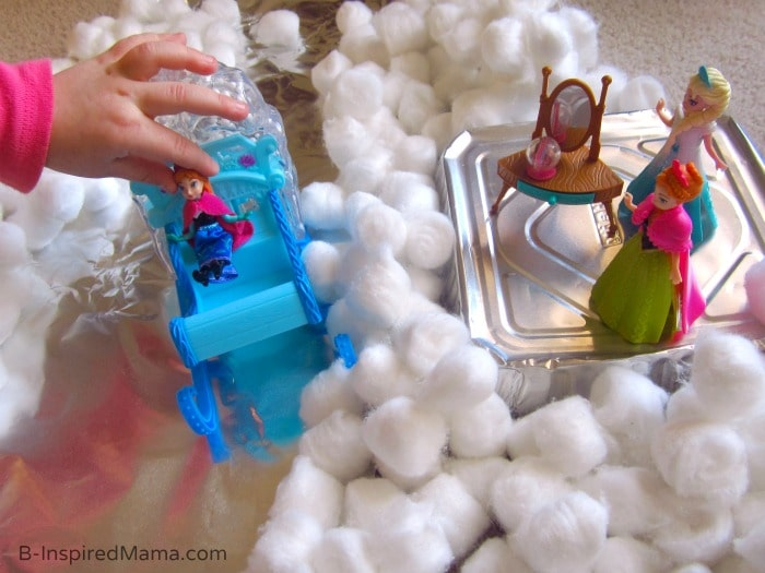 FROZEN Kids Play Invitation at B-Inspired Mama  #FrozenFun, #shop, #cbias