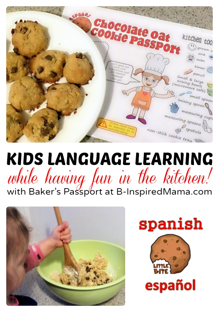 Kids Language Learning Fun in the Kitchen at B-Inspired Mama