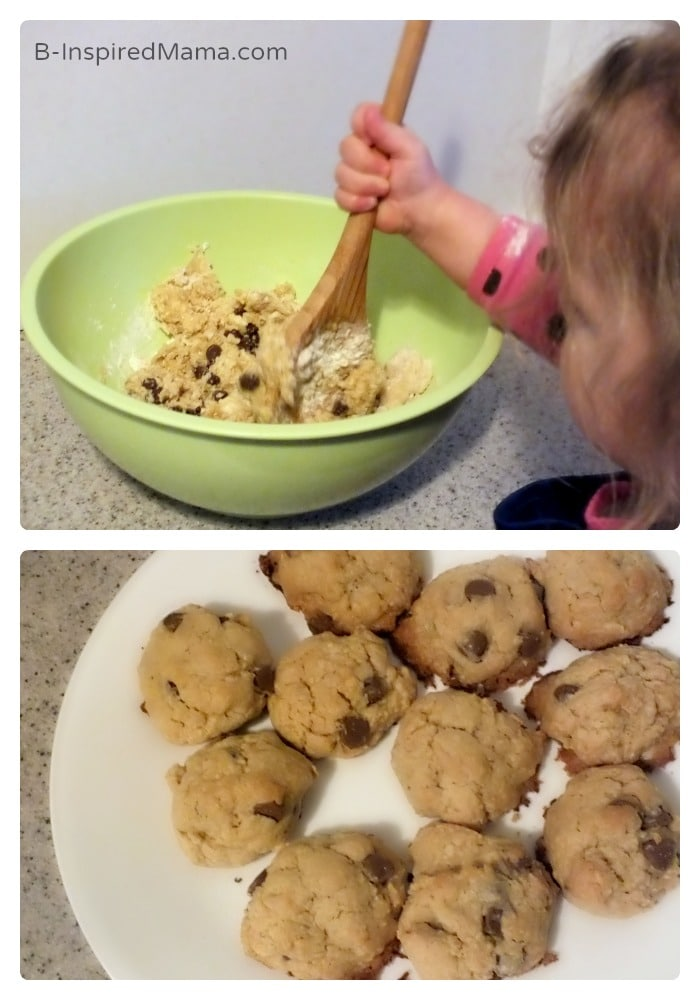 Kids Language Learning while Making Cookies at B-Inspired Mama