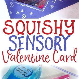 Make a Squishy Sensory Kids Valentine Card - at B-Inspired Mama