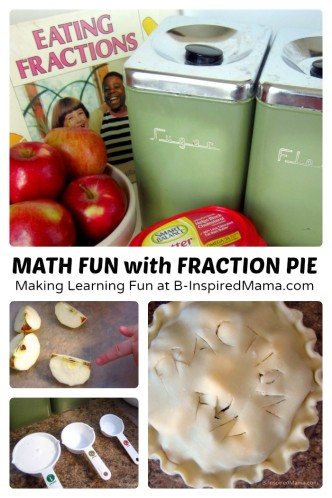 Math Fun with Fraction Pie - B-Inspired Mama