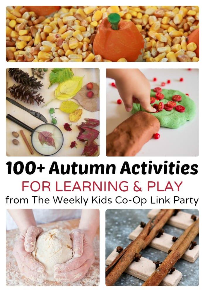 100+ Autumn Activities for Kids