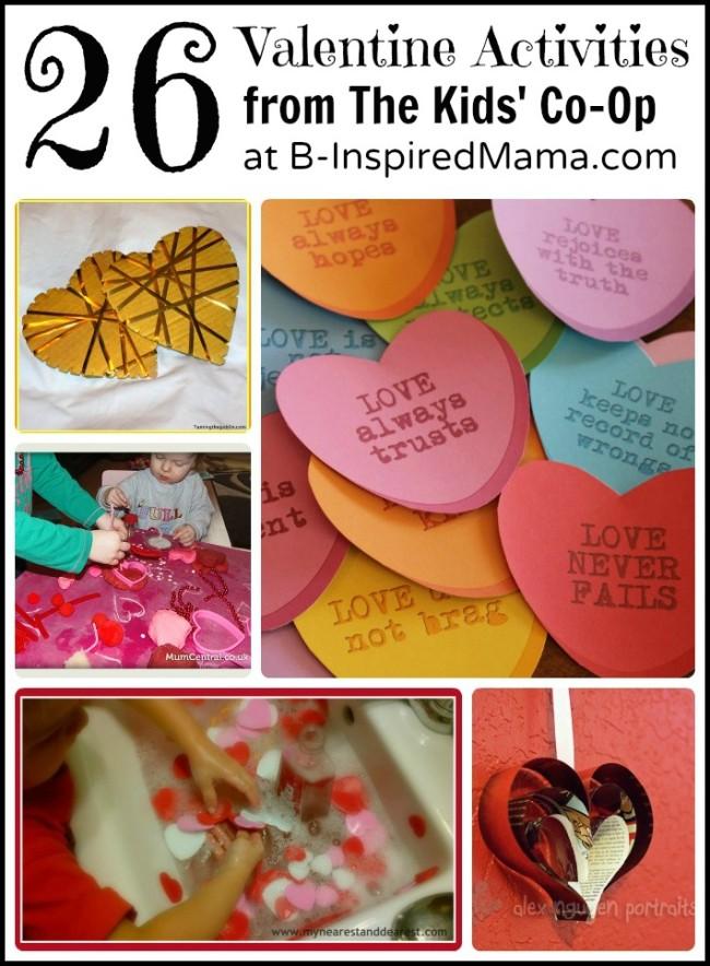 26 Valentine Activities for Kids