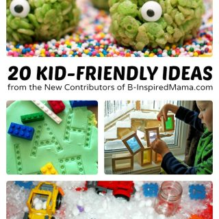 20 Kid-Friendly Ideas from the New Contributors of B-Inspired Mama