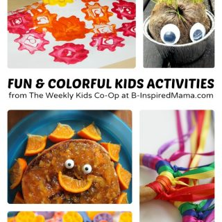 Colorful and Fun Activities for Kids + Weekly Kids Co-Op