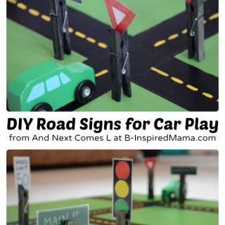Easy DIY Toys – Fun Road Signs