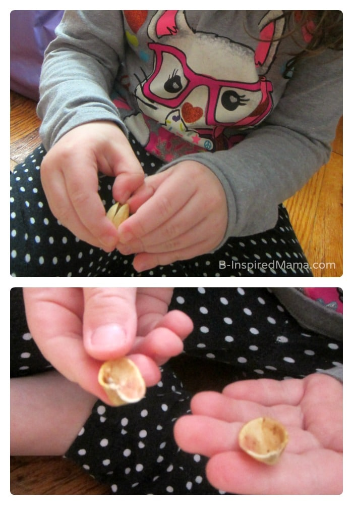 Fine Motor Skills - Early Learning Fun with Pistachios - #Sponsored by #PistachioHealth - B-Inspired Mama