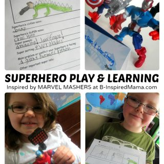 Make Your Own Superhero – Learning through Play!