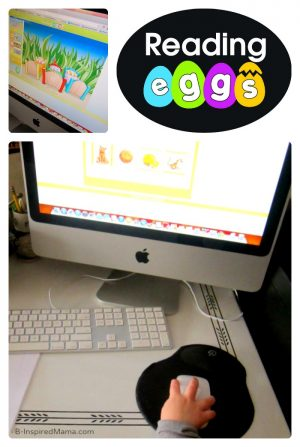 Making Reading Fun with Reading Eggs at B-Inspired Mama