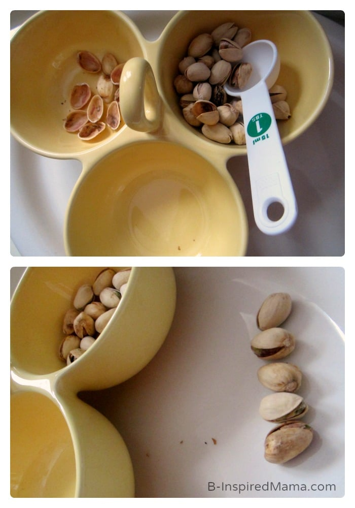 Math and Measuring - Early Learning Fun with Pistachios - #Sponsored by #PistachioHealth - B-Inspired Mama