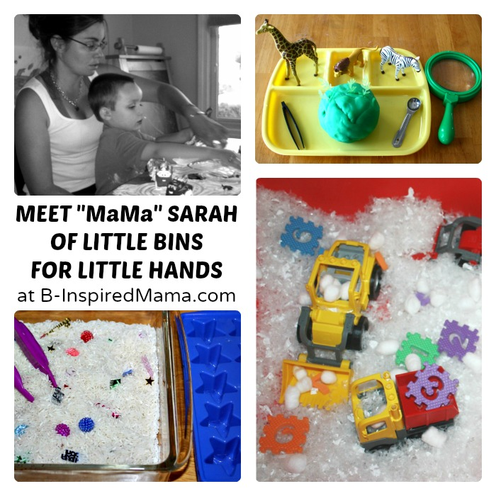 Meet Mama Sarah of Little Bins for Little Hands at B-Inspired Mama
