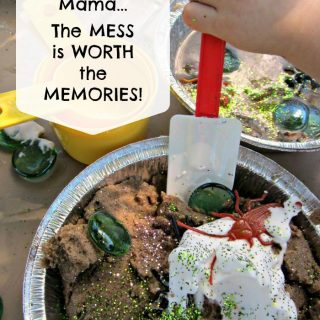 The Mess is Worth the Memories, Mama - B-Inspired Mama - #Sponsored by White Cloud