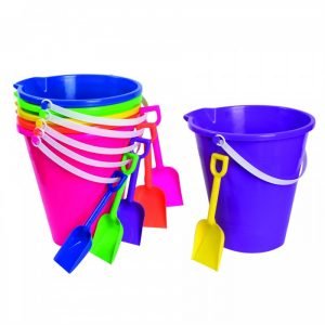 Dollar Tree Sand Buckets for Fun Summer Activities [Sponsored by Dollar Tree #DTSummerFun] at B-Inspired Mama