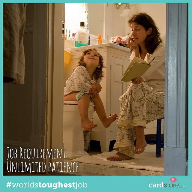 Toughest Job in the World - Job Requirements - #AD #WorldsToughestJob - B-Inspired Mama