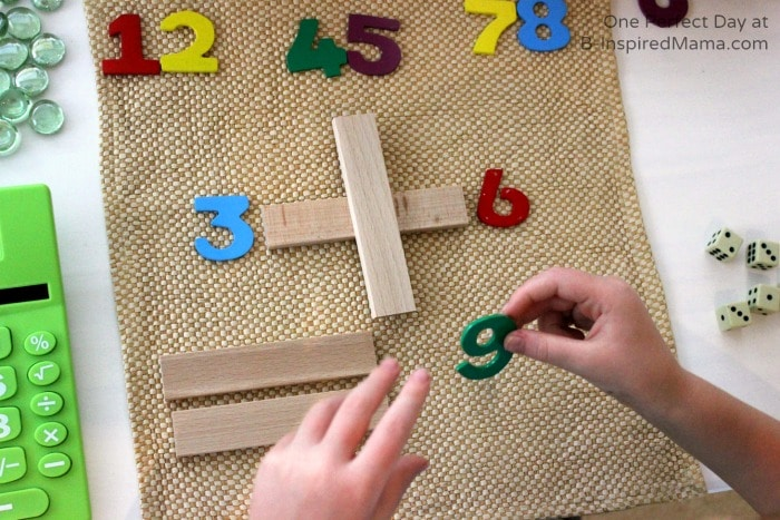 An Invitation for Math Fun at B-Inspired Mama