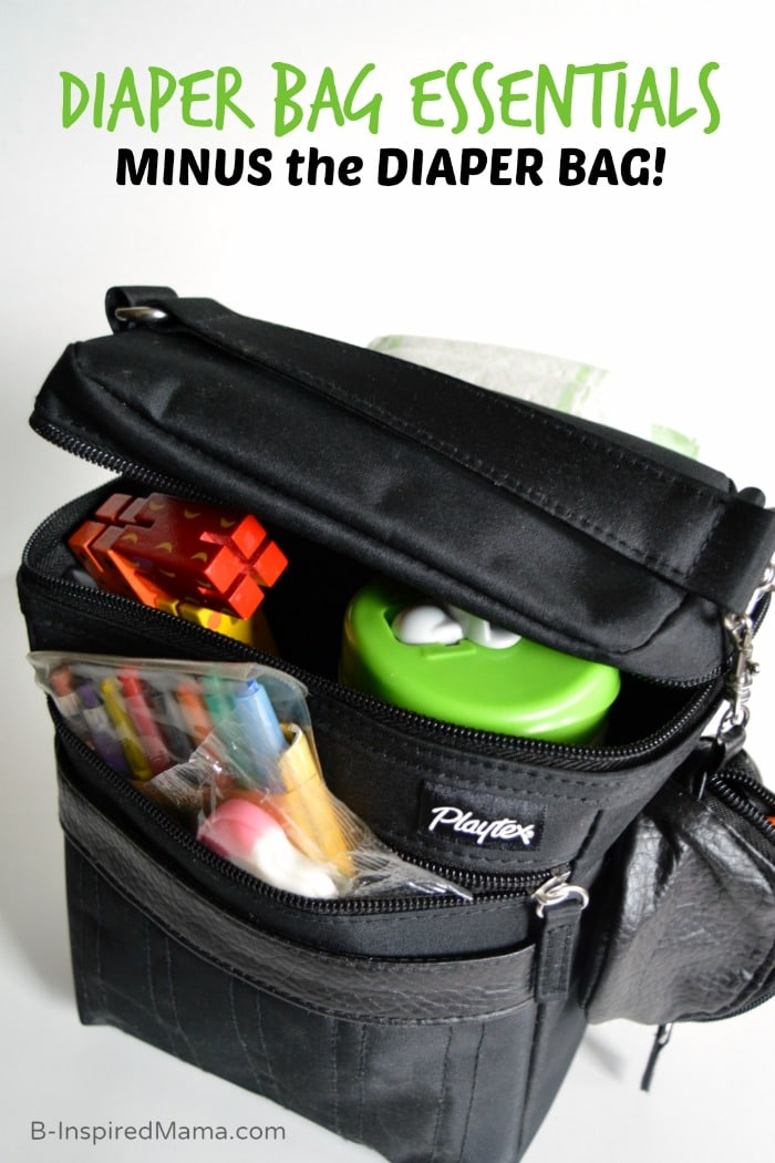 B-Inspired Mama's Diaper Bag Essentials - MINUS the Diaper Bag