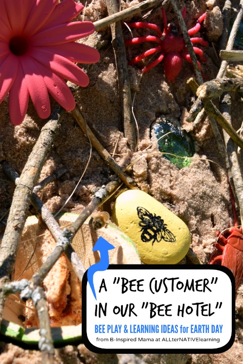 Bee Play and Learning Ideas for Earth Day - Why Are Bees Important - B-Inspired Mama