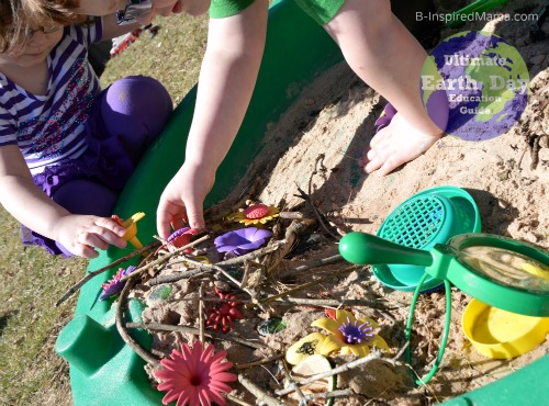 Kids Imaginative Bee Play - Why Are Bees Important Earth Day Learning with B-Inspired Mama