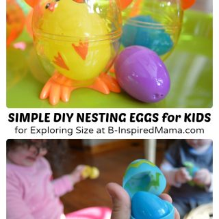 Easy DIY Toys – Nesting Easter Eggs