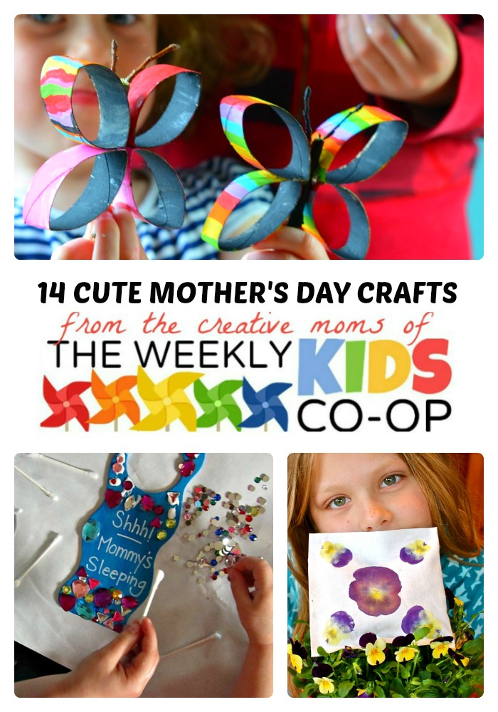 14 Cute Mother S Day Crafts For Kids