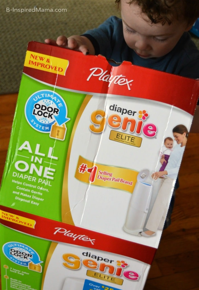 Diaper Genie - Essentials for AFTER the Diaper Change - [Sponsored by Playtex] at B-Inspired Mama