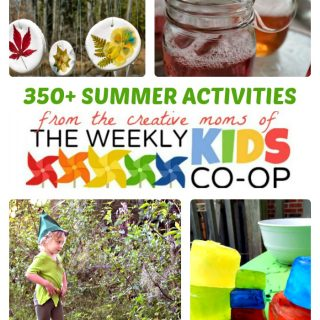 The Ultimate Guide to Fun Summer Activities for Kids + The Weekly Kids Co-Op Link Party at B-Inspired Mama
