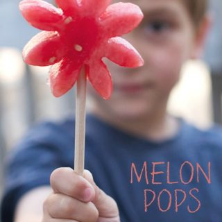 Watermelon Pops - An Easy Kids in the Kitchen Recipe at B-Inspired Mama