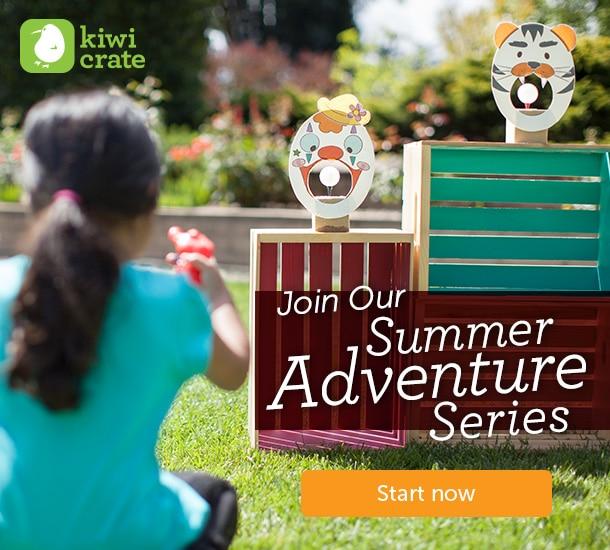 Kiwi Crate's Summer Adventure Series is Full of Fun Summer Activities [AD #KiwiSummerFun] at B-Inspired Mama
