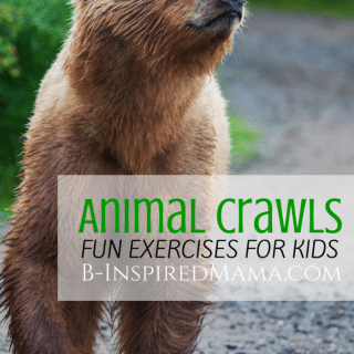 Animal Crawl Exercises for Kids