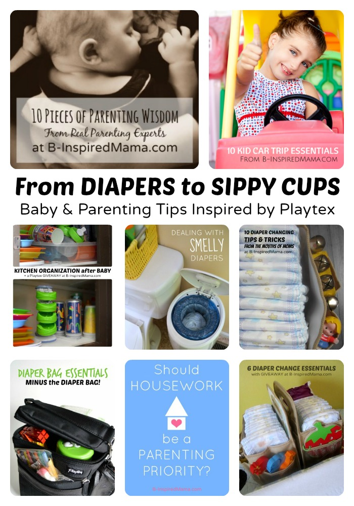 Baby Tips and Parenting Advice - Sponsored by Playtex at B-Inspired Mama