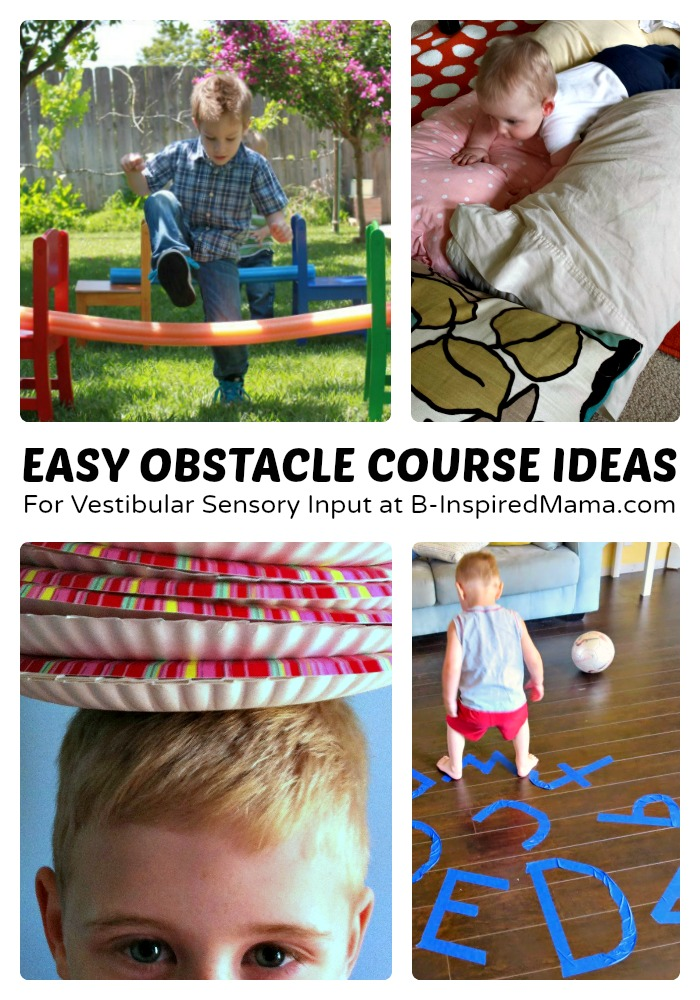 Kids Ninja Obstacle Course Ideas