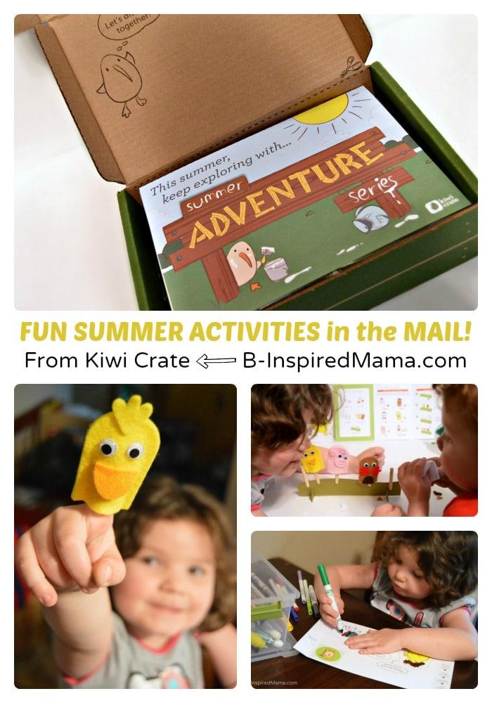 Fun Summer Activities Right to Your Door - [AD #KiwiSummerFun] at B-Inspired Mama