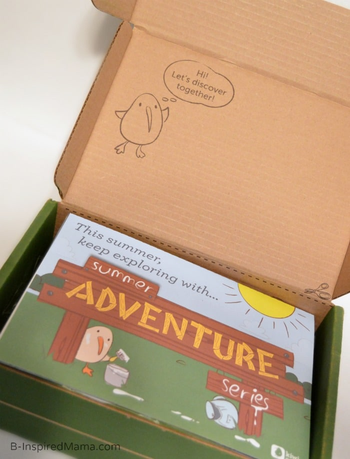 Fun Summer Activities Right to Your Door - Our Summer Adventure Box [AD #KiwiSummerFun] at B-Inspired Mama