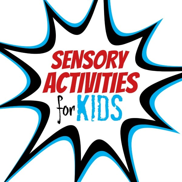 Sensory Activities for Kids Blog
